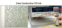 Process Engineering Clear Conductive ITO Ink